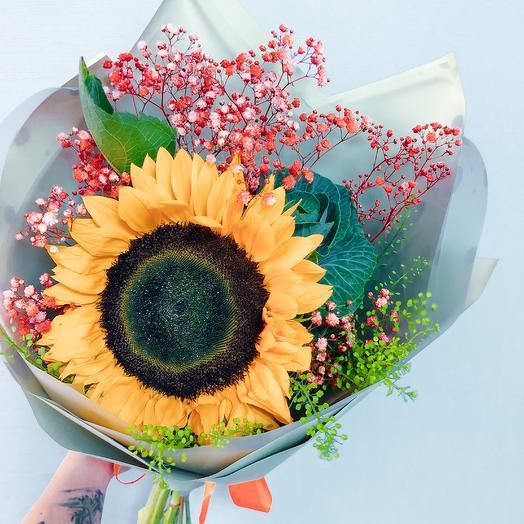 Букет Яркая Школа: букеты цветов на заказ Flowwow