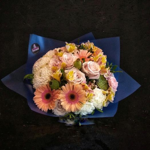 Букет бомбастик: букеты цветов на заказ Flowwow