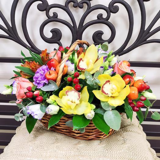 Корзина 89: букеты цветов на заказ Flowwow