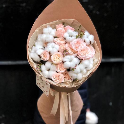 Розовый Плюш: букеты цветов на заказ Flowwow