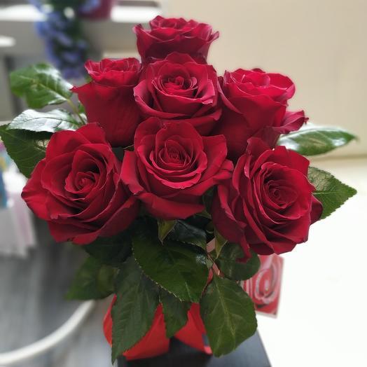 Коробочка красоты: букеты цветов на заказ Flowwow