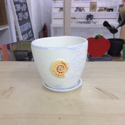 Кашпо керамика: букеты цветов на заказ Flowwow