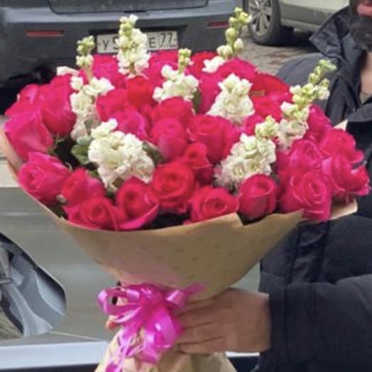 Букет «Страсть»: букеты цветов на заказ Flowwow
