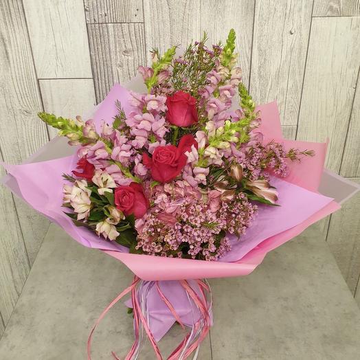 Летние мотивы: букеты цветов на заказ Flowwow