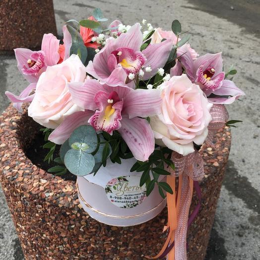 Коробочка зефирная: букеты цветов на заказ Flowwow
