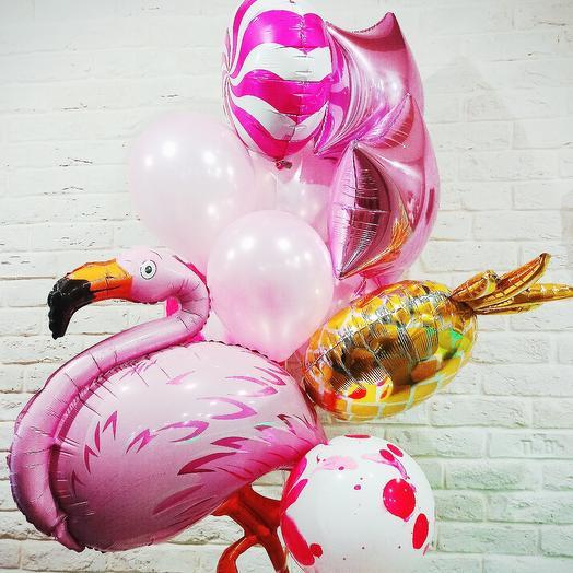 """Набор шаров """"Фламинго"""""""