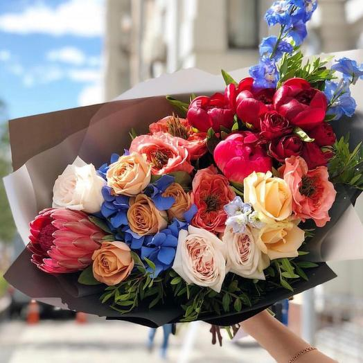 """Букет цветов """" Вдохновение"""""""