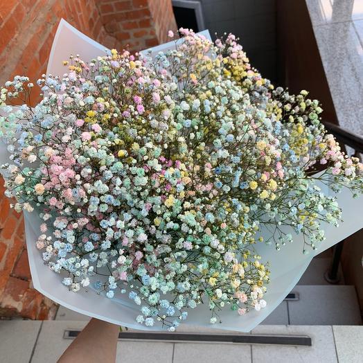 Гипсофиловое поле: букеты цветов на заказ Flowwow