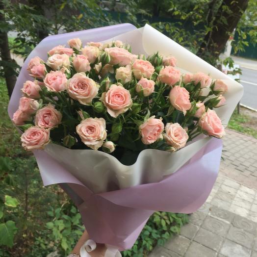 Роза кустовая Лидия