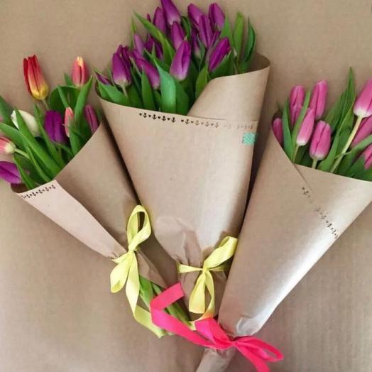 Микс тюльпан 11 шт