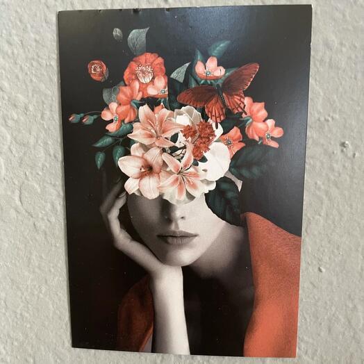 Мини открытка