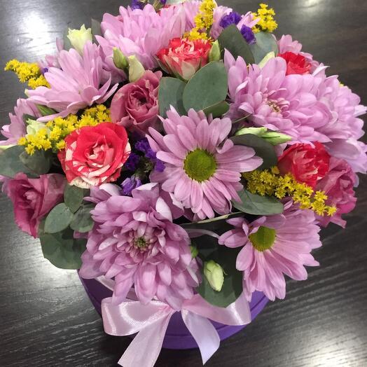 Цветы в коробке 064477