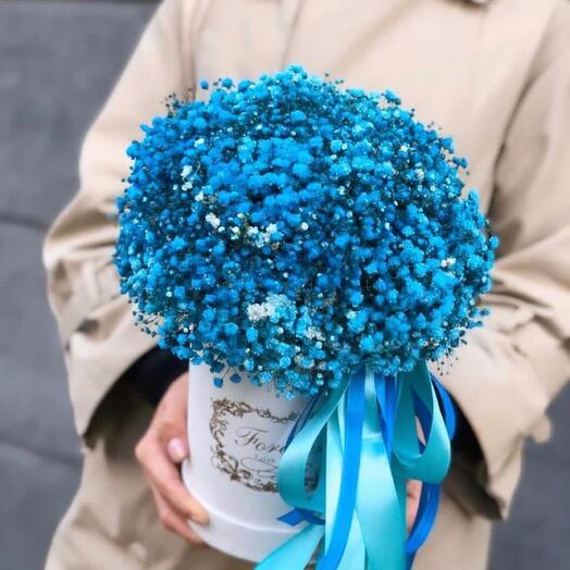 Цветы в коробке «Океан любви»