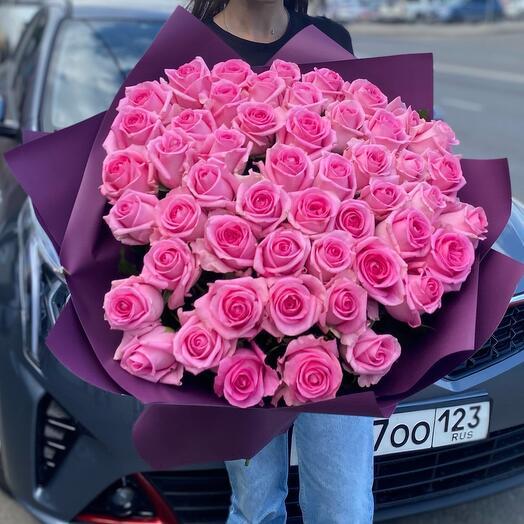 Букет роз « Ревеваль 51»