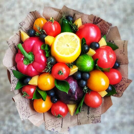 Овощной букет 2