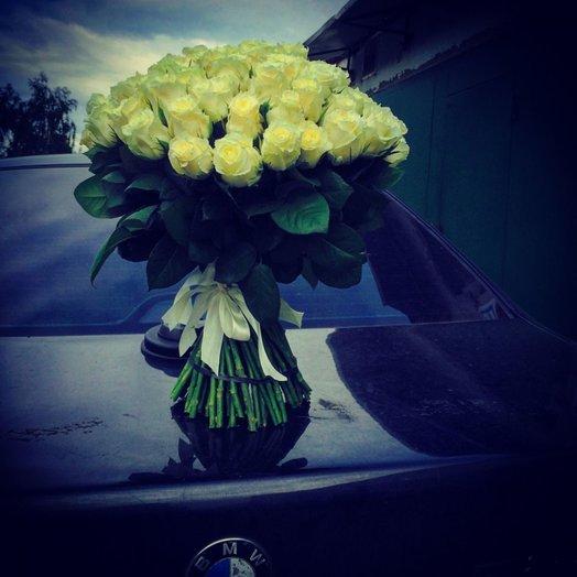 Белые розы - для любого повода!