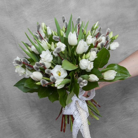 Светлая Пасха: букеты цветов на заказ Flowwow