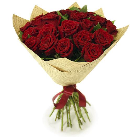 Букет Приятное воспоминание 25 шт - 50 см: букеты цветов на заказ Flowwow
