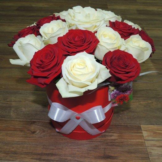 Коробка Вдохновения: букеты цветов на заказ Flowwow