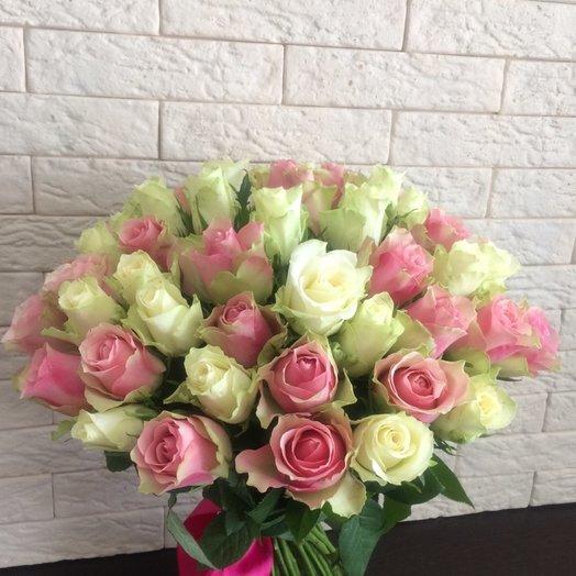 Кенийский микс: букеты цветов на заказ Flowwow