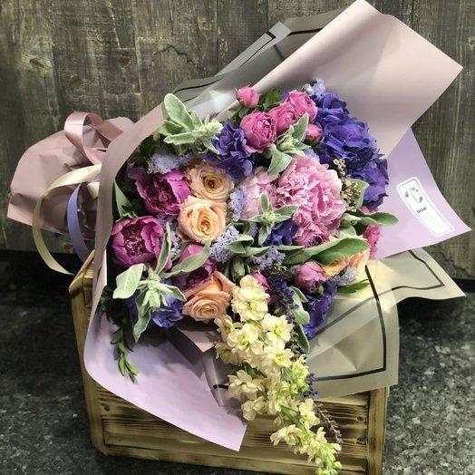 """Букет """"Фиолла"""": букеты цветов на заказ Flowwow"""