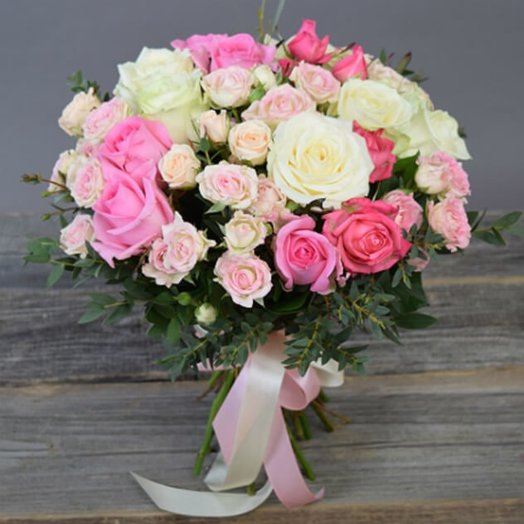 Mix of roses: flowers to order Flowwow