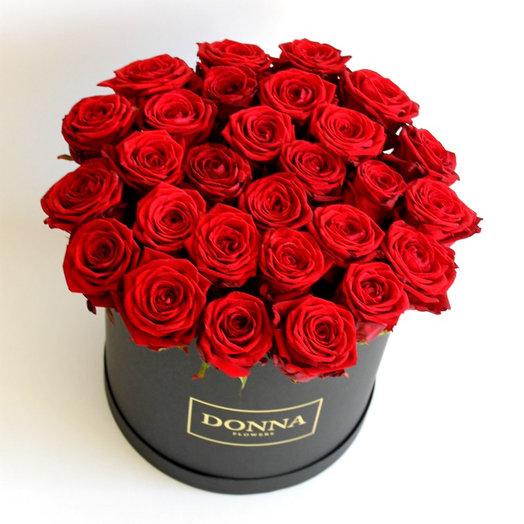 Стильная-чёрная: букеты цветов на заказ Flowwow