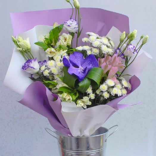 Изящный этюд: букеты цветов на заказ Flowwow