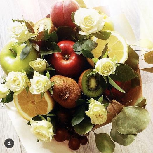 Фруктовый букет «аллея»: букеты цветов на заказ Flowwow
