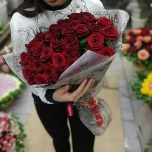 Букет из 31 розы: букеты цветов на заказ Flowwow