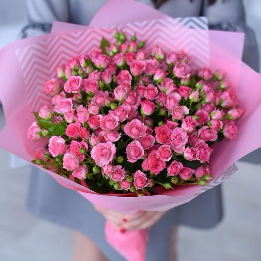 """""""Букет из кустовых роз"""": букеты цветов на заказ Flowwow"""