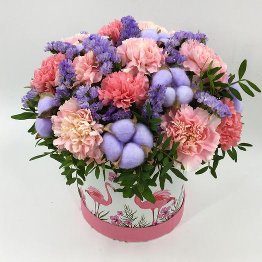 Pink surprise: flowers to order Flowwow