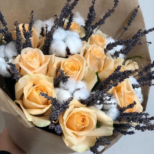 Запах прованса: букеты цветов на заказ Flowwow