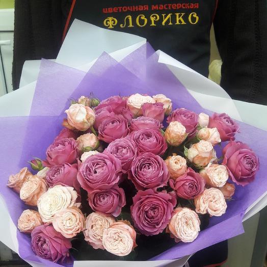 Розапион21: букеты цветов на заказ Flowwow