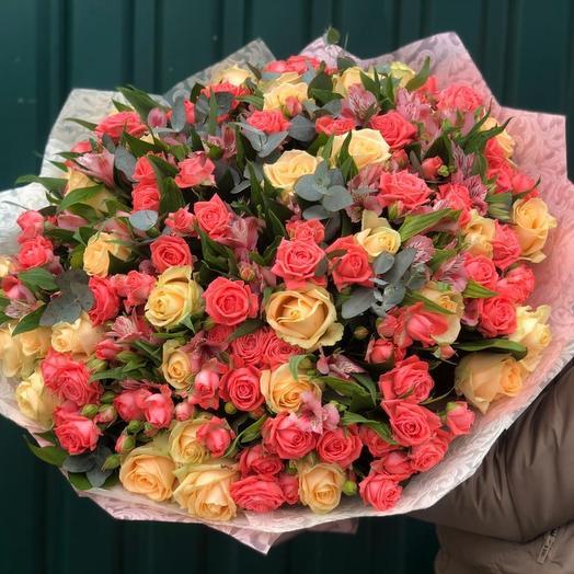 Полный восторг: букеты цветов на заказ Flowwow
