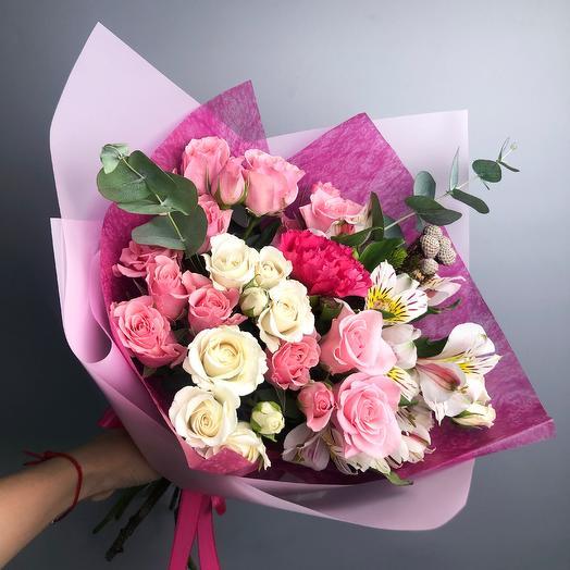 Грейс: букеты цветов на заказ Flowwow