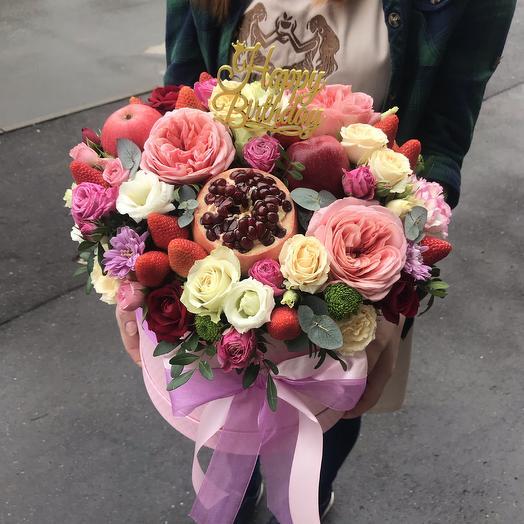 Композиция «райское наслаждение»: букеты цветов на заказ Flowwow