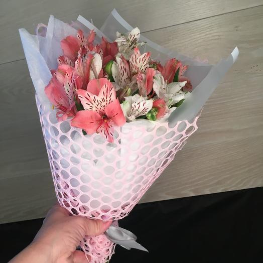 Букет из Микса альстромерий: букеты цветов на заказ Flowwow