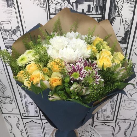 Букет «Сердечная благодарность»: букеты цветов на заказ Flowwow