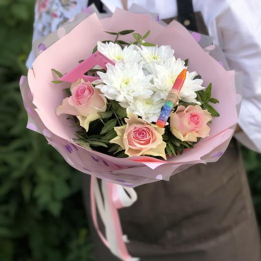 Круглая отличница!🌸: букеты цветов на заказ Flowwow