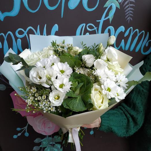Букет Романтик: букеты цветов на заказ Flowwow