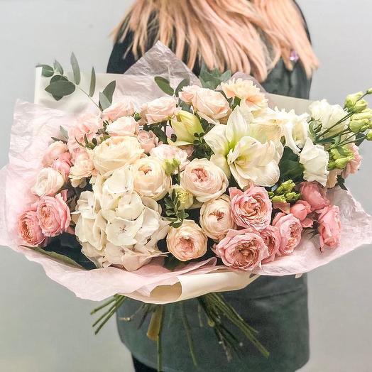 Роскошный букет для самой любимой: букеты цветов на заказ Flowwow