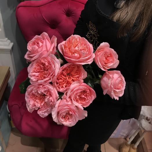 Роза садовая: букеты цветов на заказ Flowwow