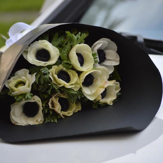 """Букет анемонов """"Ретро"""": букеты цветов на заказ Flowwow"""