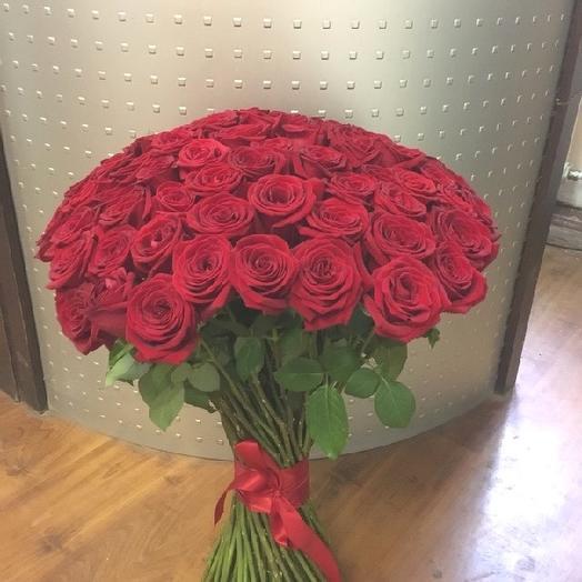 61 роза для Любимой: букеты цветов на заказ Flowwow