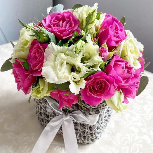 Стильная композиция: букеты цветов на заказ Flowwow
