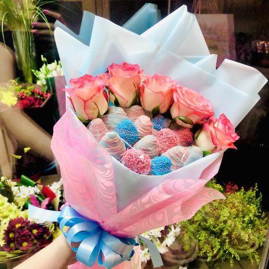 Клубника 19: букеты цветов на заказ Flowwow