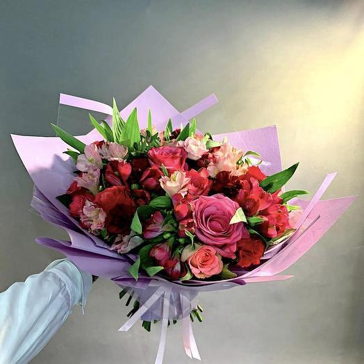 Букет «Аромат завтрашнего дня»: букеты цветов на заказ Flowwow