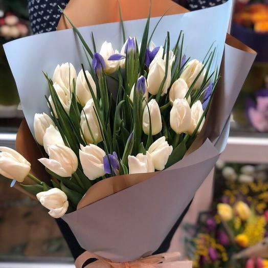 Подарок весны: букеты цветов на заказ Flowwow