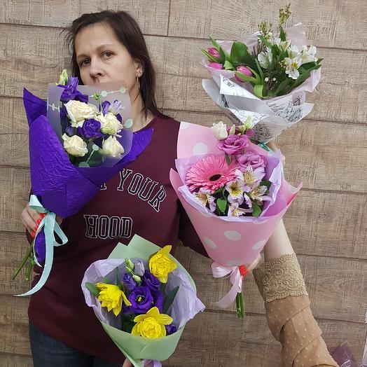 4 комплимента на 8 марта для корпоративных клиентов: букеты цветов на заказ Flowwow